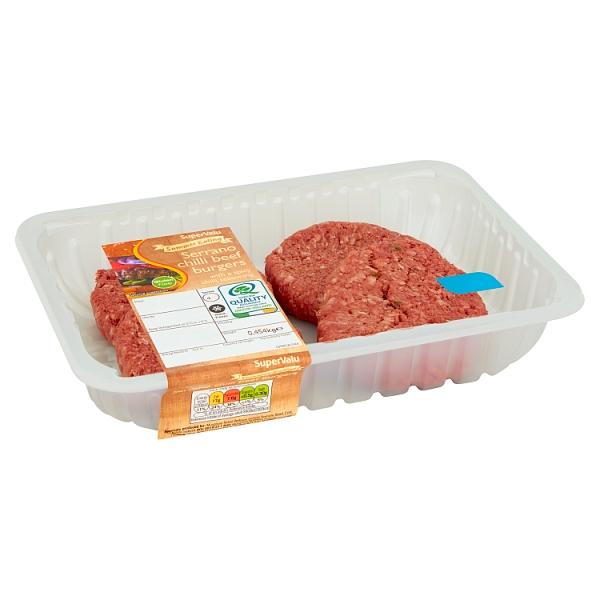 Sv Serrano Chilli Beef Burger