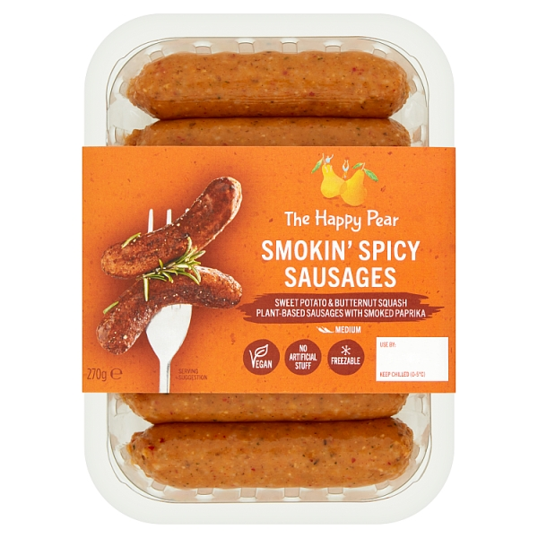 The Happy Pear Smokin' Spicy Sausages