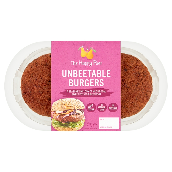 The Happy Pear Unbeetable Burgers