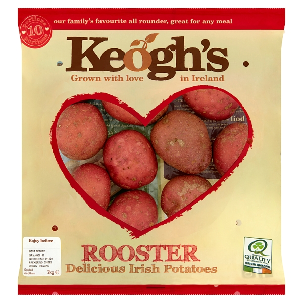 Keogh's Rooster Irish Potatoes