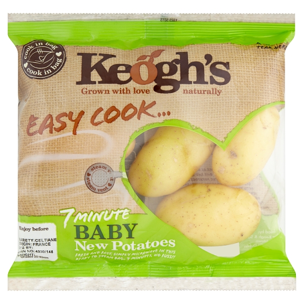 Keogh's Easy Cook Baby New Potatoes
