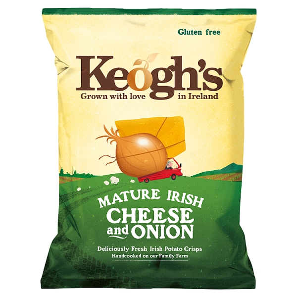 Keogh's Mature Irish Cheese & Onion Crisps