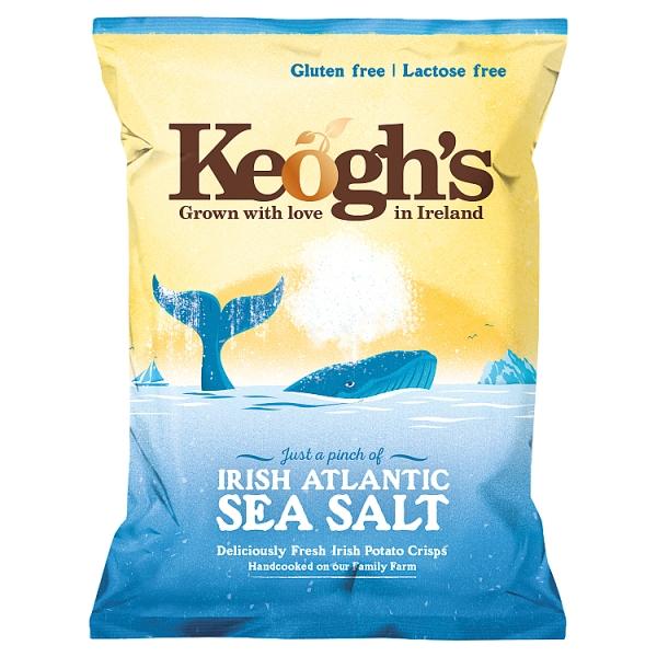 Keogh's Irish Atlantic Sea Salt Crisps