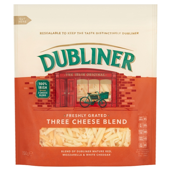 Dubliner 3 Cheese Grated Blend