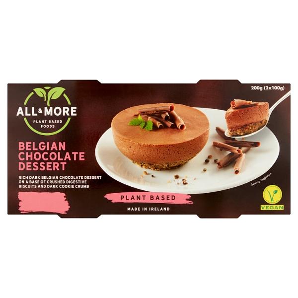 All & More Belgian Chocolate Dessert