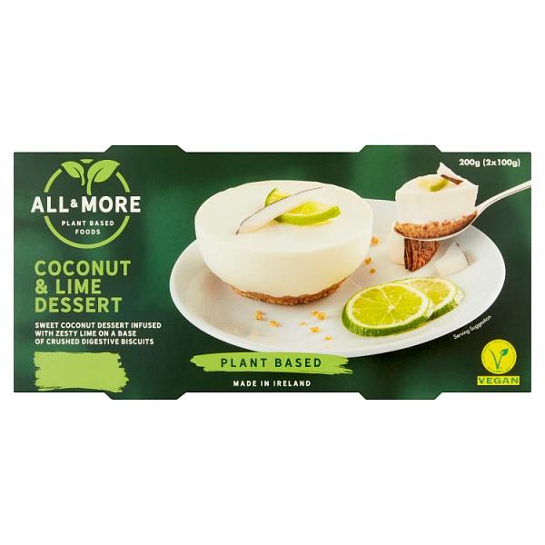All & More Coconut & Lime Dessert