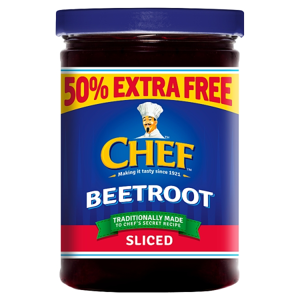 Chef Beetroot Sliced 50% Extra Free