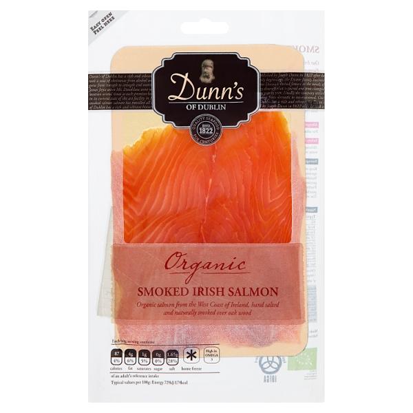 Dunn's Organic Smoked Irish Salmon