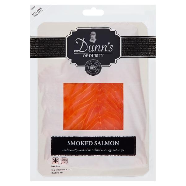 Dunns Smoked Salmon Slices