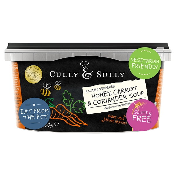 Cully &SULLY Honey, Carrot  Soup