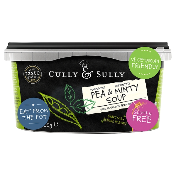 Cully & Sully Pea & Mint Soup