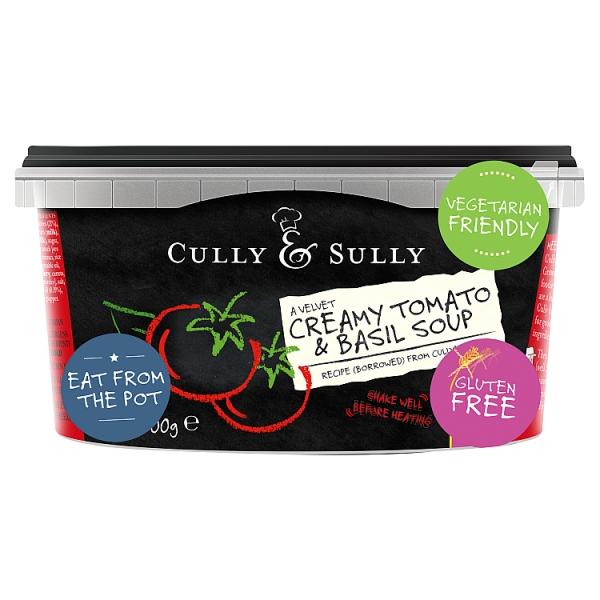 Cully & Sully Tomato & Basil Soup