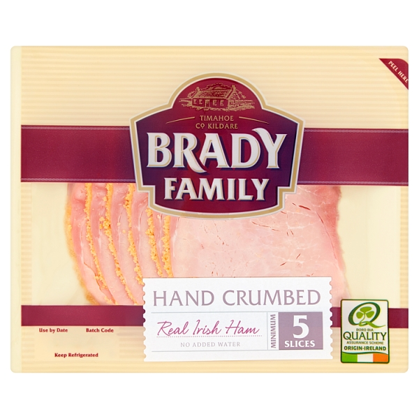 Brady Family Crumbed Irish Ham Slices