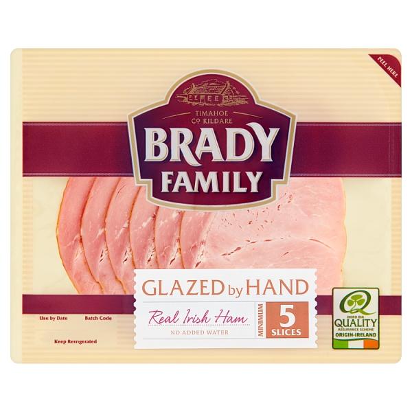 Brady Family Glazed Irish Ham Slices