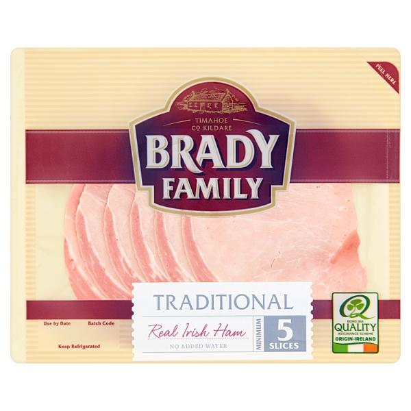 Brady Family Irish Ham Slices