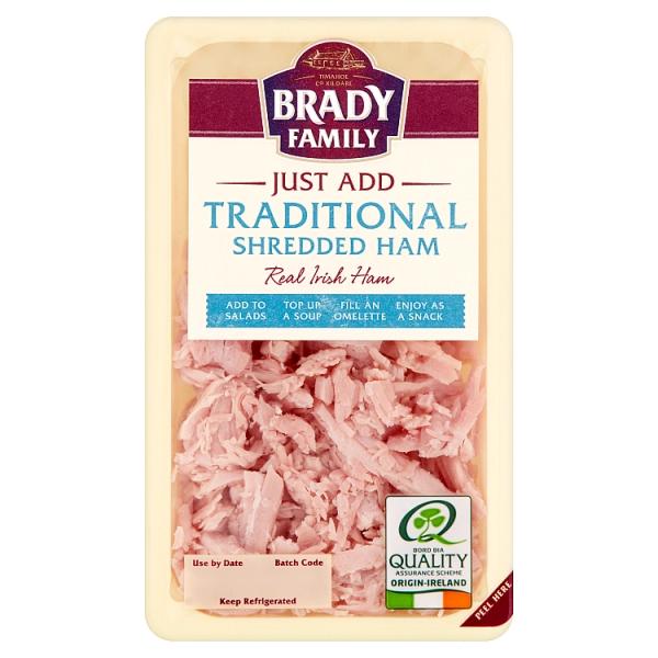 Brady Family Shredded Irish Ham
