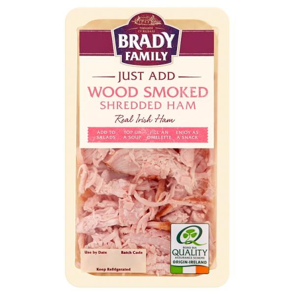 Brady Family Wood Smoked Shredded Irish Ham