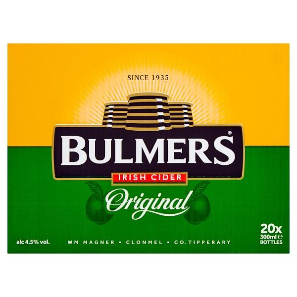 Bulmers Irish Cider Bottles 20 Pack