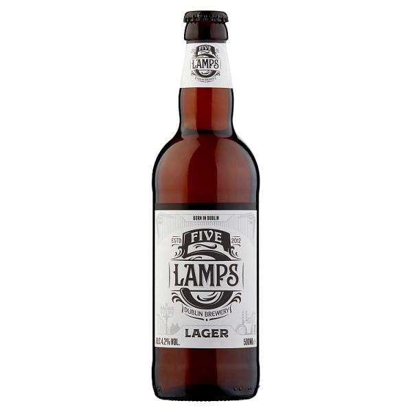 5 Lamp Lager Bottle