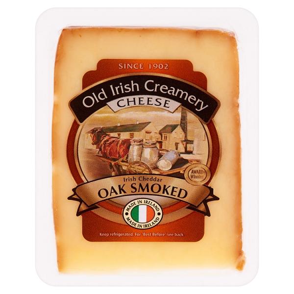 Old Irish Creamery Oak Smoked Cheddar Cheese