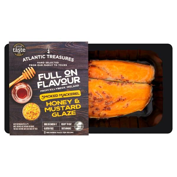 Atlantic Treasures Honey & Mustard Smoked Mackerel
