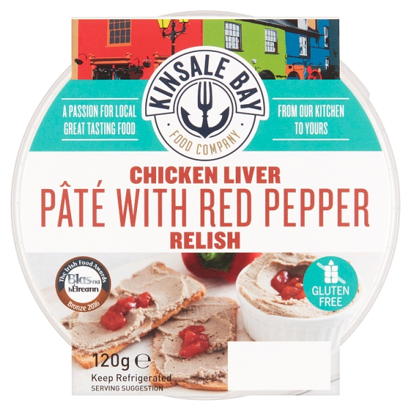 Kinsale Bay Chicken Liver Pate with Red Pepper Relish