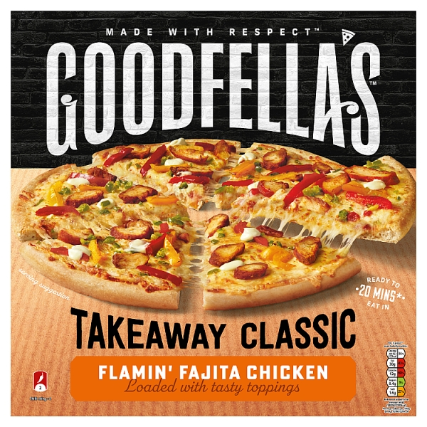 Goodfella's Takeaway Slice n' Share Flamin' Fajita Chicken Pizza