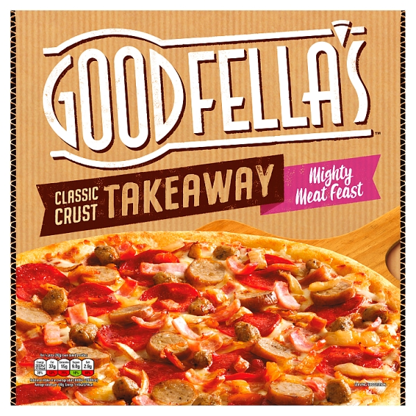 Goodfella's Takeaway Slice n' Share Mighty Meat Feast Pizza