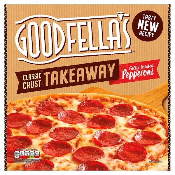 goodfellas takeaway slice n share fully loaded pepperoni pizza