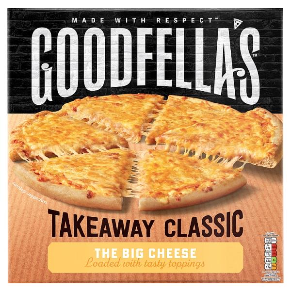 Goodfella's Takeaway Slice n' Share The Big Cheese Pizza