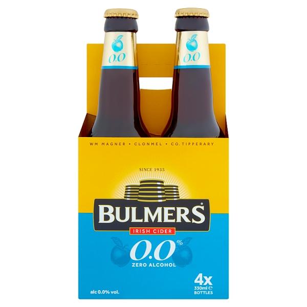 Bulmers 0.0 Bottles 4 Pack
