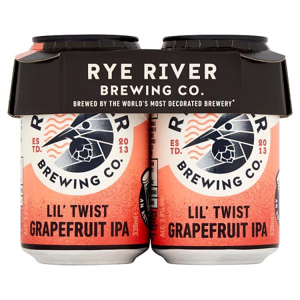 Rye River Lil' Twist Grapefruit Ipa