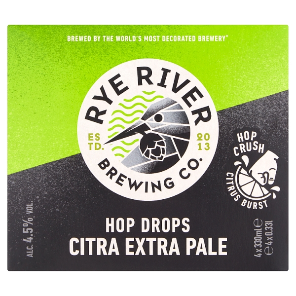 Rye River Hop Drops Citra Extra Pale