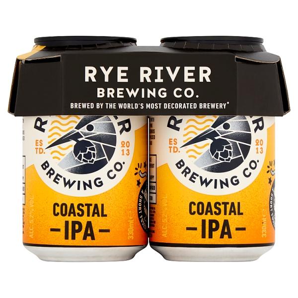 Rye River Coastal Ipa 4pk