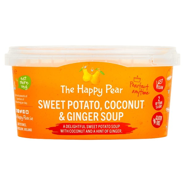 The Happy Pear Sweet Potato, Coconut & Ginger Soup