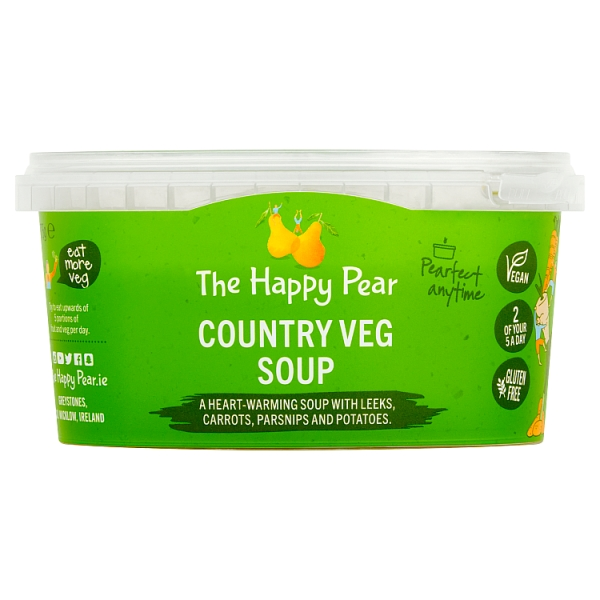 The Happy Pear Country Vegetable Soup