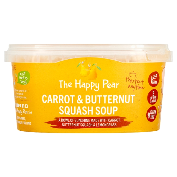 The Happy Pear Carrot & Butternut Squash Soup