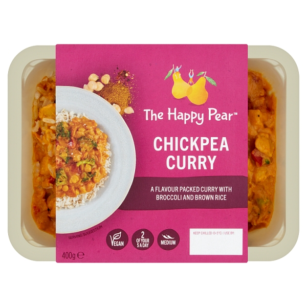 The Happy Pear Chickpea Curry