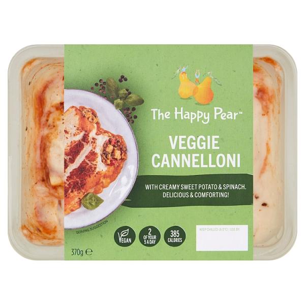 The Happy Pear Veggie Cannelloni