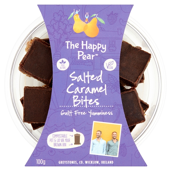 The Happy Pear Salted Caramel Bites