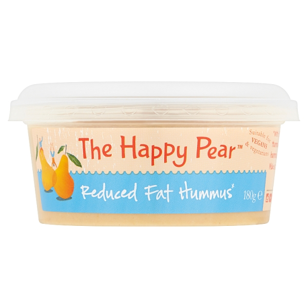 The Happy Pear Reduced Fat Hummus