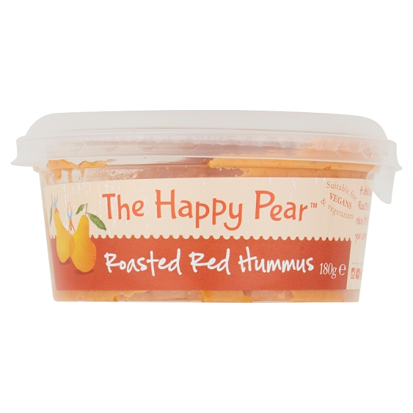 The Happy Pear Roasted Red Hummus