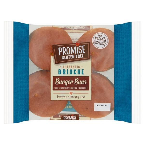 Promise Gluten Free Brioche Burger Buns