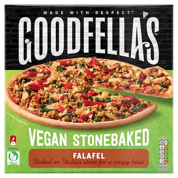 Goodfellas Vegan Falafel Pizza