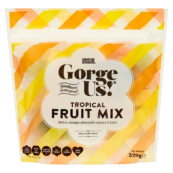 Unislim Gorge Us Tropical Fruit Mix