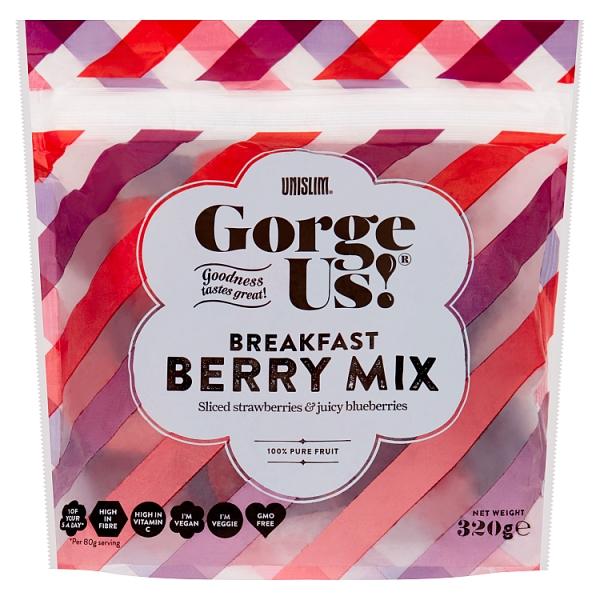 Unislim Gorge Us Breakfast Berry Mix