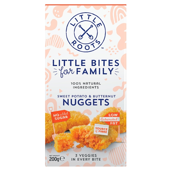 Little Roots Sweet Potato and Pumpkin Nuggets