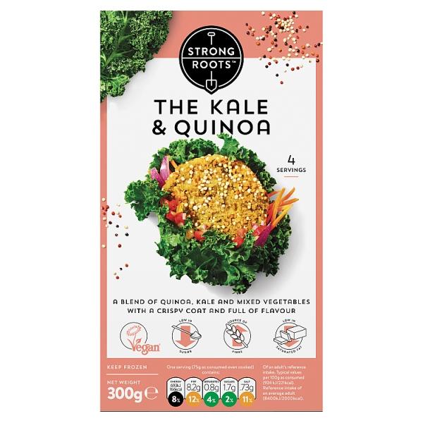 Strong Roots Kale & Quinoa Burger