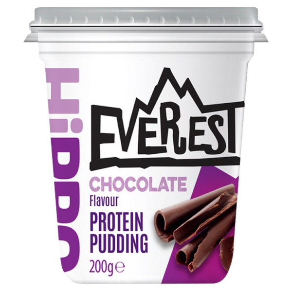Everest Chocolate Protein Pudding