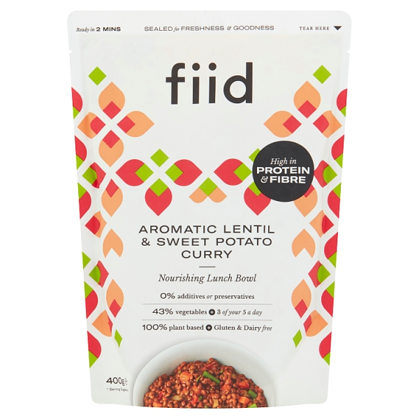 Fiid Aromatic Sweet Potato & Lentil Ragu